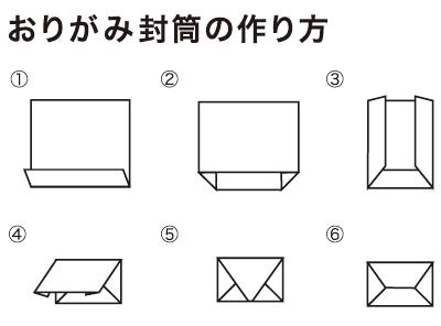 クリスマス 折り紙:折り紙 封筒-mahounoefude.com
